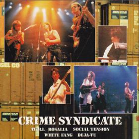 1989 - Crime syndicate Album Compilation ATOLL et groupes Japonais